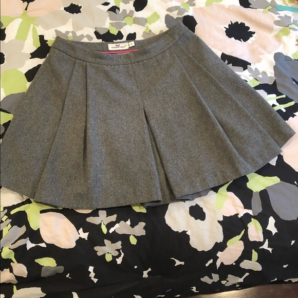Vineyard Vines Wool pleated skirt